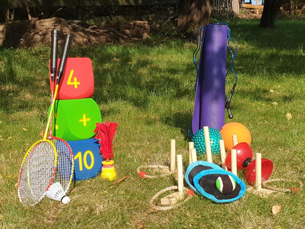 Ausleihe von verschiedenen Outdoorspielen