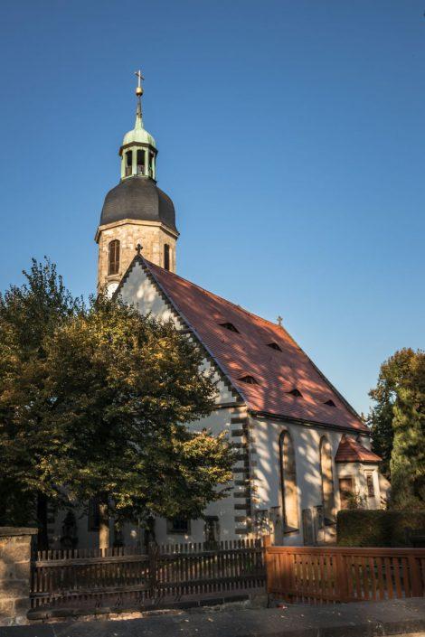 Vermutlich schon im 12. Jahrhundert erbaut – die Dorfkirche Kreischa