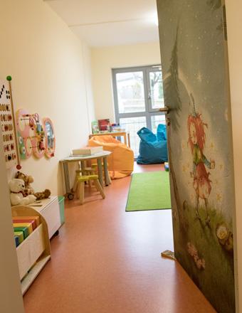 Lässt Kinderherzen höher schlagen: das Spielreich des Landhotels