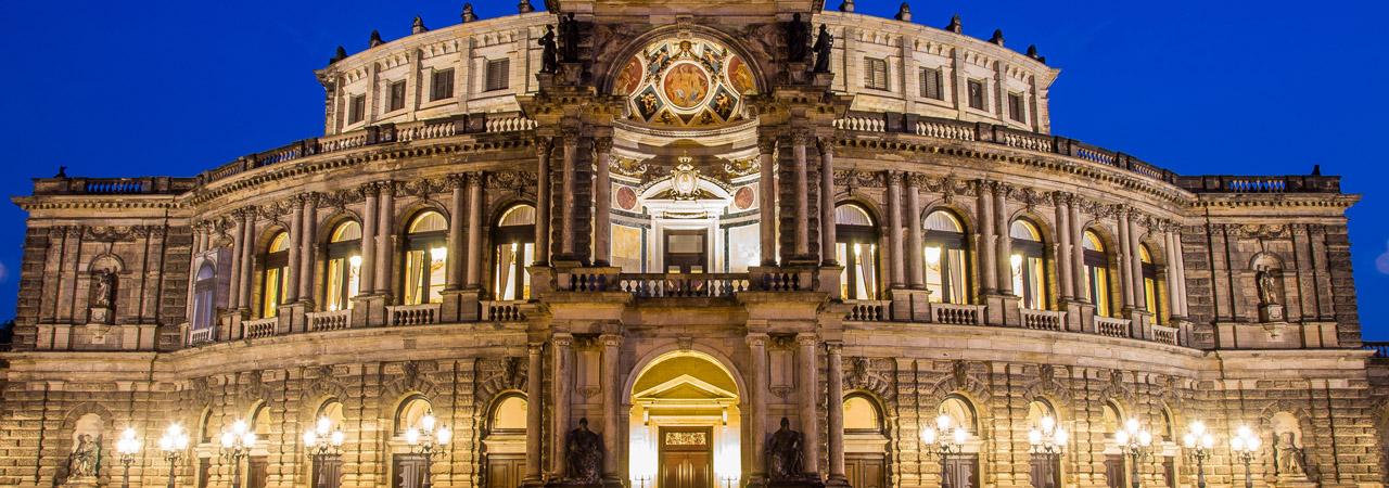 Weltberühmt: Dresdens Semperoper