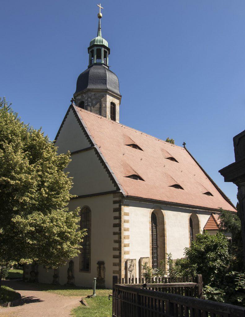 Vermutlich schon im 12. Jahrhundert erbaut – die evangelische Pfarrkirche Kreischa